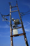 Stromleitung Stockfotografie
