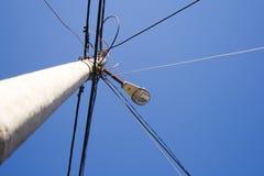 Stromleitung lizenzfreie stockbilder