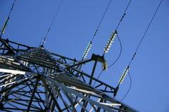 Stromleitung III stockfotos