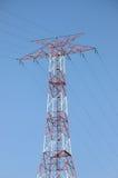 Stromleitung Kontrollturm Lizenzfreie Stockbilder