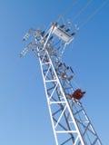 Stromleitung Sicherung Stockfoto