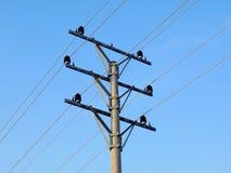 Stromleitung Spalte Lizenzfreies Stockbild