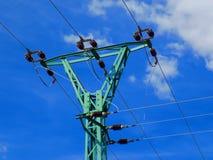 Stromleitung Spalte Lizenzfreie Stockfotos