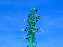 Stromleitung Spalte Stockbilder