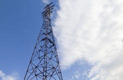 Stromleitung Unterstützung Lizenzfreies Stockbild