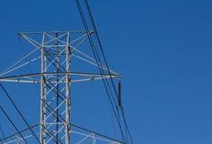 Stromleitungen Lizenzfreie Stockbilder