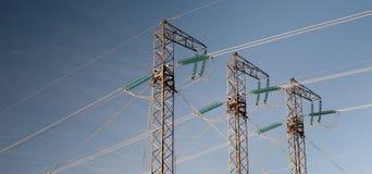 Stromleitungen Stockbilder