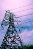 Stromleitungen Lizenzfreies Stockbild
