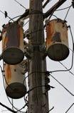 Strommast Stockbild