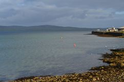 Stromness, η second-most πυκνοκατοικημένη πόλη στην ηπειρωτική χώρα Orkney, Σκωτία στοκ εικόνες με δικαίωμα ελεύθερης χρήσης