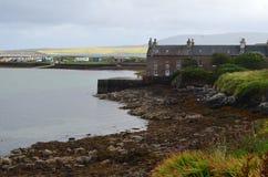 Stromness, η second-most πυκνοκατοικημένη πόλη στην ηπειρωτική χώρα Orkney, Σκωτία στοκ φωτογραφίες
