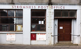 Stromness Post Office building. Royalty Free Stock Image