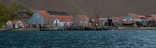 Stromness Whaling Station Royalty Free Stock Photos