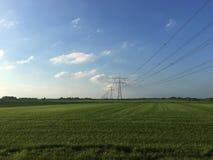 Strompfosten Stockbild