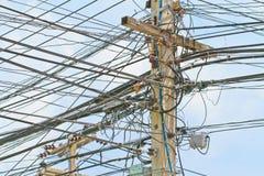 Stromposten Lizenzfreie Stockbilder