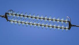 Strompylondetail Stockfotografie