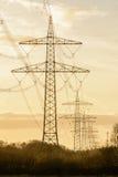 Stromtürme Lizenzfreie Stockbilder