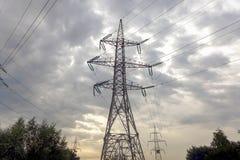 Stromtürme Lizenzfreies Stockfoto