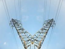 Stromturmmast-Strommast Stockbilder