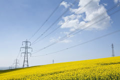 Stromversorgung Stockfoto