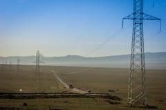Stromversorgung Stockbild