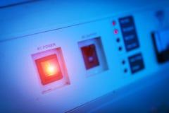 Stromversorgung im Rechenzentrumraum Lizenzfreie Stockbilder