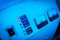 Stromversorgung im Rechenzentrumraum Lizenzfreie Stockfotografie