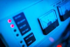 Stromversorgung im Rechenzentrumraum Lizenzfreies Stockbild