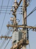 Stromversorgungs-Versorgungslinie Lizenzfreie Stockbilder