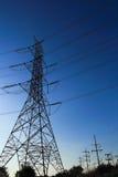Stromversorgungskabel Stockbild