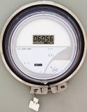 Stromversorgungswohnmeter des intelligenten Gitters digitales lizenzfreie stockfotos