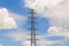 Stromverteilungsstation Stockfotografie