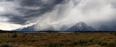 Stromy Grand Teton. Royalty Free Stock Photos