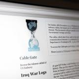stron internetowych wikileaks obraz royalty free