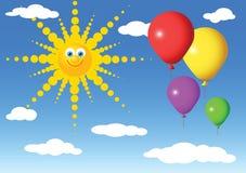 strona balonu Obraz Stock
