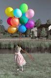 strona dziewczyny Obraz Royalty Free