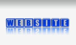 strona internetowa Obraz Stock