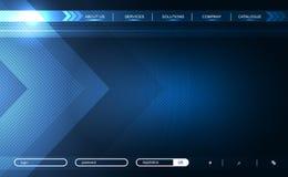 Strona internetowa Obrazy Stock