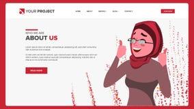 Strona Internetowa projekta wektor Biznesowa rzeczywistość Miejsce planu szablon kreskówki osoba Inwestuje konferencję ilustracja ilustracja wektor