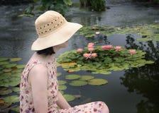 strona kapelusz Zdjęcie Stock