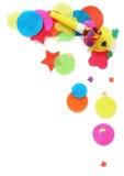 strona konfetti Fotografia Royalty Free