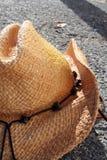 strona kowbojski kapelusz Fotografia Stock