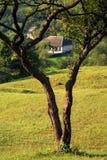 strona kraju krajobrazu Zdjęcia Stock