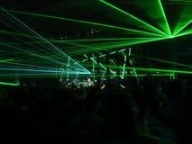 strona lasera Obraz Royalty Free