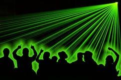 strona lasera Obrazy Stock
