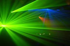 strona lasera Zdjęcia Royalty Free
