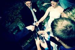 strona ślubnych Zdjęcia Stock