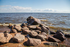 Strona morze Obraz Royalty Free