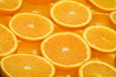 strona pomarańczy 3 Fotografia Stock