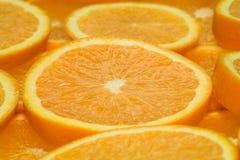 strona pomarańczy 4 Obrazy Royalty Free